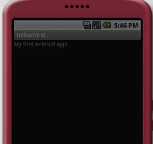 My First Android App